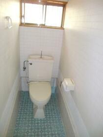 池谷テル子貸家のトイレ