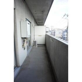 レジデンス武蔵野 0304号室のバルコニー