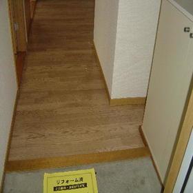 サンハイツ森 301号室の玄関