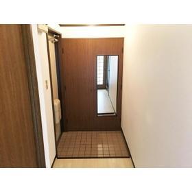 ロイヤルエリア大成 301号室の玄関