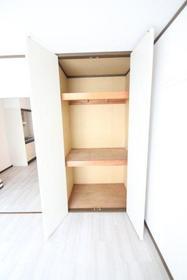 シグナスリーフ 207号室の収納