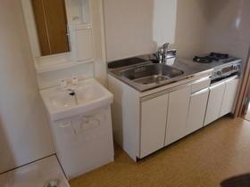 小島ハイツⅡ 101号室のキッチン