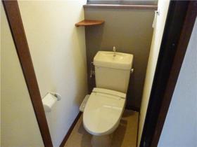 フラットブレラ1号棟 201号室のトイレ