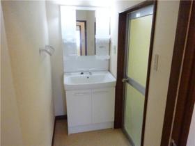 フラットブレラ1号棟 201号室の洗面所