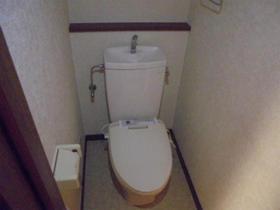 アルページュ花崎 205号室のトイレ