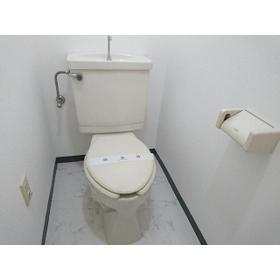 ティアラ南 201号室のトイレ