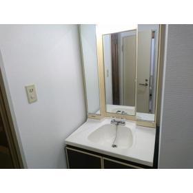 ティアラ南 201号室の洗面所