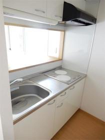 ヒルズ・ヴィラ 102号室のキッチン