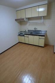 浦和グリーンマンション 303号室のキッチン