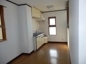 ナルミマンション 102号室のキッチン