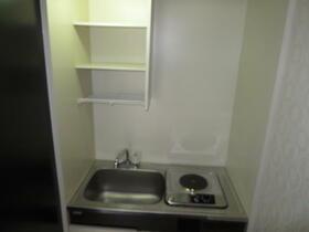 ドルチェ・ビータ 205号室のキッチン