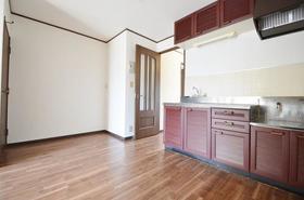 グランハイムSHOEI A棟 101号室のキッチン