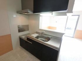シャルムコート D 102号室のキッチン
