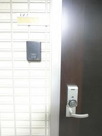 シャルムコート D 102号室のセキュリティ