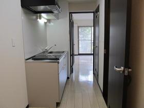 フローラ 203号室のキッチン