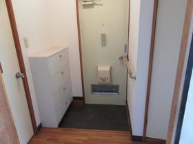 スカーレットハイツ 202号室の玄関