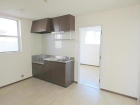 サンビレッジN 201号室のキッチン