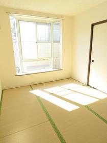 サンビレッジN 201号室の居室