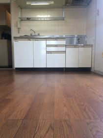 上野毛マンシオン 401号室のキッチン