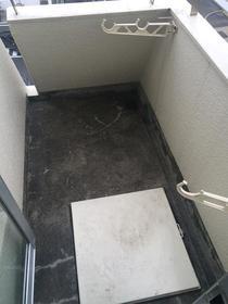上野毛マンシオン 401号室のバルコニー