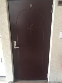 上野毛マンシオン 401号室の玄関
