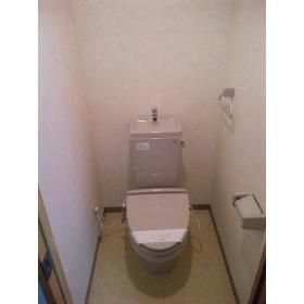 SIE'S EBISU 401号室のトイレ