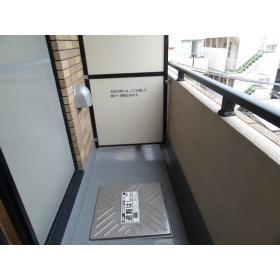SIE'S EBISU 401号室のバルコニー