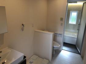 ヨーロー 99 A棟 2号室の洗面所