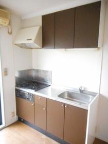 ハレアカラ 106号室のキッチン