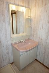 パミールⅤ 202号室の洗面所