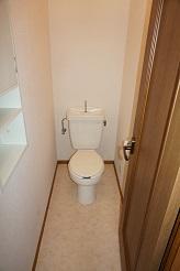 パミールⅤ 202号室のトイレ