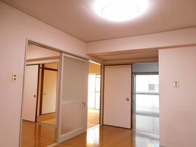 与野中里住宅 301号室のリビング