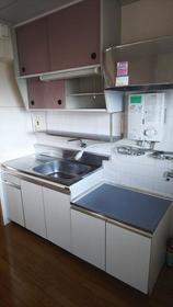 与野中里住宅 301号室のキッチン