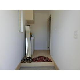 三室大古里緑地台住宅H棟の玄関