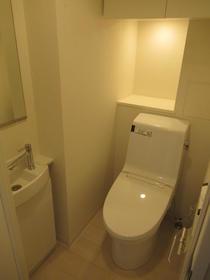 ビバリーホームズ代官山 102号室 102号室のトイレ