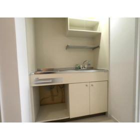 リブレス八木崎 旧レオパレス八木崎第2 204号室のキッチン