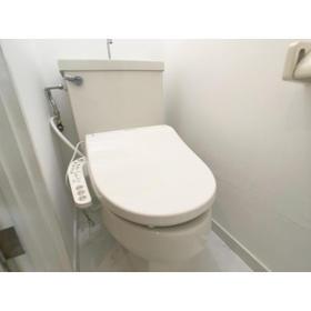 リブレス八木崎 旧レオパレス八木崎第2 204号室のトイレ