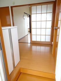 グリーンフラッツI 301号室の玄関