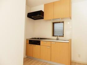 シャルマン等々力 103号室のキッチン