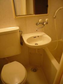 パークサイドコート 202号室の風呂