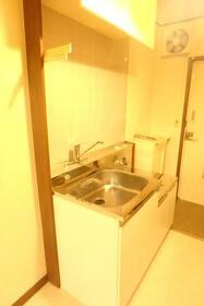 シェル・ドエル 103号室のキッチン