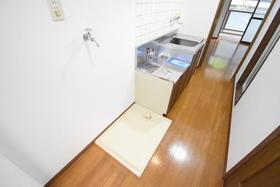 第二藤マンション 107号室のキッチン