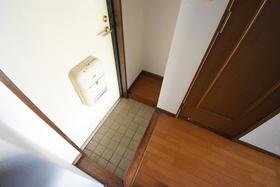 第二藤マンション 116号室の玄関