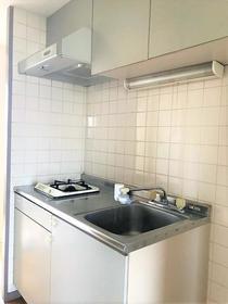 RHK鈴谷6 406号室のキッチン