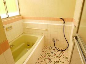 原貸家の風呂
