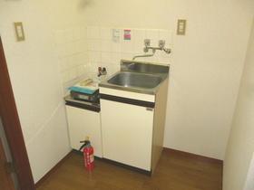向後ハイム 202号室のキッチン
