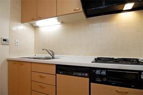 レジディア自由が丘 0403号室のキッチン