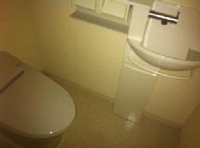 レジディア自由が丘 0403号室のトイレ