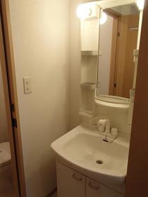 リバージュの森 209号室の洗面所