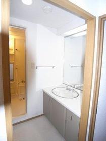オークハウス 306号室の洗面所